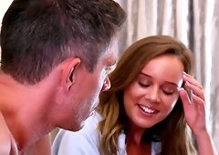 Alexis Adams is curious in a fellow's erected pleasure rod
