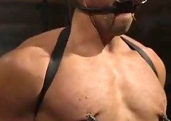 BDSM slave punished by sadist maledom