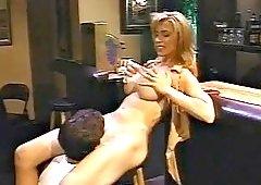 sex at a bar