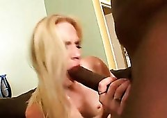 Tall skinny white girl takes huge cock