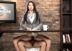 You newscasters asian porn message, matchless))), interesting
