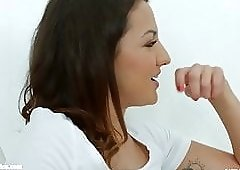 Lesbians Amirah Adara and Suzy Rainbow in Truth or dare by
