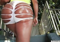 Big Hot Oiled Butt
