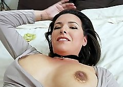 Busty chick Danica Dillion loves a hard dick more than anything
