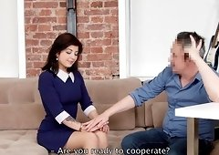 Tori Fox cannot resist a man's erected pleasure tool