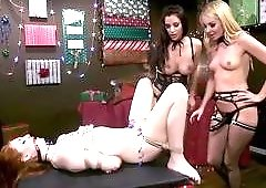 Hot Christmas Threesome