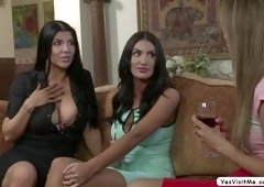 Hot pretty chick Ayumi Anime gets her pussy licked and fingered by horny August Ames