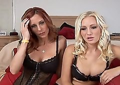 Malibu and her horny girlfriend explore each other's cunts