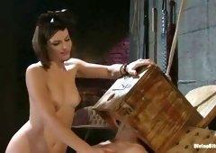 Pornstar sex video featuring Bobbi Starr and Maitresse Madeline