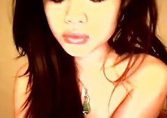 Only one beautiful asian girl webcam show