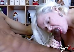 Amateur black dude gets really horny while eating cunt of chubby whore