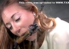 Submissive Bitgagged Slave Toyed And Crying