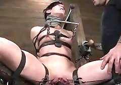 Elise Graves is the true queen of pain BDSM porn