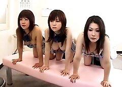 Amazing Japanese slut Chisa Hoshijima, Shino Nakamura, Miu Moritani in Fabulous Close-up, Group Sex JAV movie