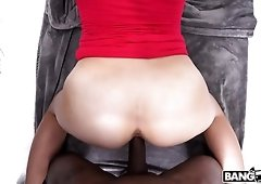 Sloan Harper is a black cock addict and her round ass is a masterpiece