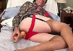 Nylon granny in Pantyhose: 13,305