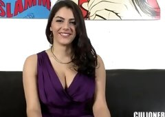 European playgirl Valentina Nappi is acting in reality xxx video