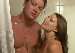 Kayla West enjoys squirting with all of her horny heart