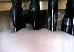 Trampling with Heels