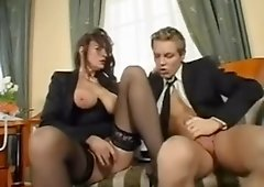 Amazing Office Sex With Mature Woman