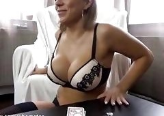 Gorgeous amateur wife in hot lingerie gets her ass destroyed