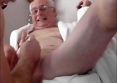 Porno gay old man Huge Collection