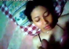 indon slut gets creamed