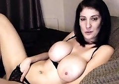 Georgeous milf with huge boobs