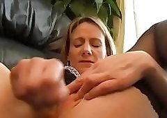 Hot Milf Tiffanyt plays with herself
