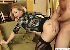 Cute light-haired got boinked in a rear end fashion pose, in a motel apartment near her home