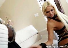 Hottest pornstars Lexington Steele, Nikita Von James in Crazy HD, MILF sex movie
