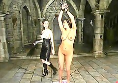 Sasha Sparks gets toyed rough in a basement by Chanta-Rose