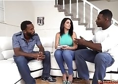 Two Black Dicks for Mom