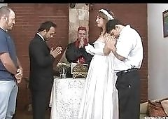 Speaking, she gets fucked hard before wedding think, that