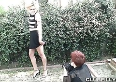 Nice sensual lesbian sex with a really voracious and hot Lily Cade