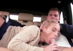Dirty hard fucking in the car along insolent Cristal Caitlin