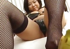 Fuko and her watermelon sized dicks teases you on camera
