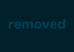 Slutty blonde milf kneels down and chokes on a black dick