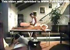 Lauren Hall - The Tease (massage scene)
