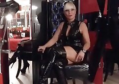 Miss Lady Tina, Domina, Herrin, Strapon, Mistress, Anal