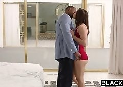Cute Abella Danger calls her lover to plow her interracial