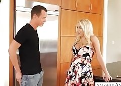 Big tits MILF Katie Morgan gets a big dick - Naughty America