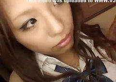 Crazy Japanese model Aoi Kawamuri in Fabulous POV, Hairy JAV clip