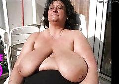 Big Huge Boobs Granny
