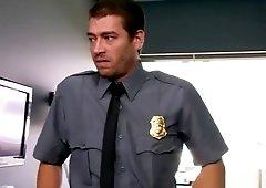 Ashley Adams gets banged by two cops