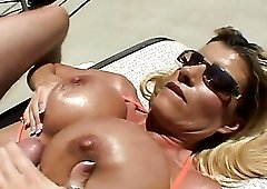 Busty milf kristal summers gets fucked shaved nasty cunt