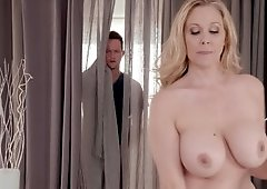 New masseur fucks the busty milf in her hot cunt