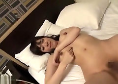 Amazing Japanese chick in Crazy JAV video unique