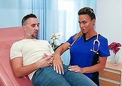 Cougar nurse deals patient's dick in insane hardcore