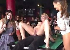 Bound Sex Slave Was Fucked On The Billiard Table